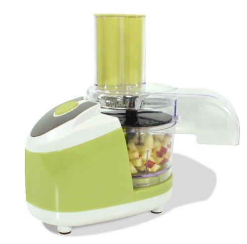 Küchenmaschine Universalzerkleinerer | Elektrischer Gemüsezerkleiner als idealer Küchenhelfer | Mini Chopper für Gemüse, Obst & Fleisch | Grün