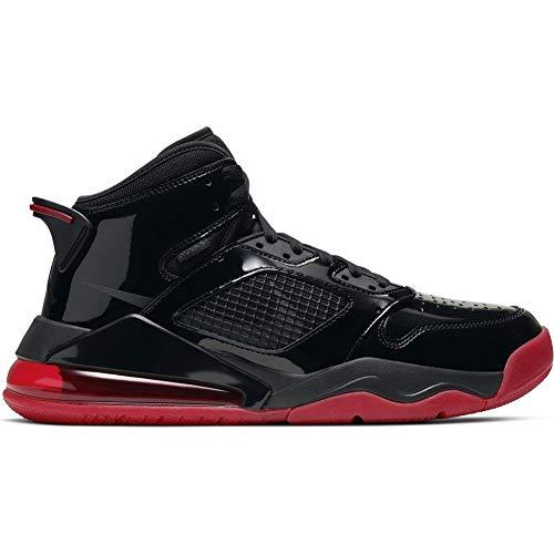 Nike Jordan Mars 270 - Black/Anthracite-Gym red, Größe:8