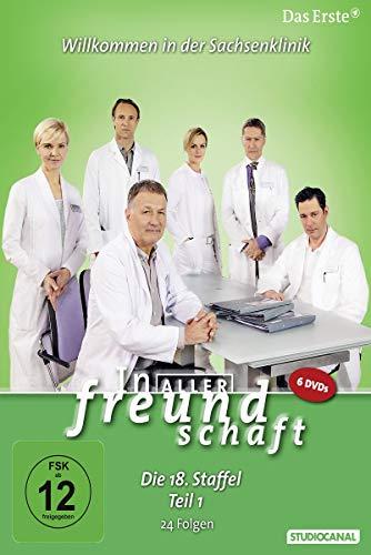 In aller Freundschaft - Die 18. Staffel, Teil 1, 24 Folgen [6 DVDs]