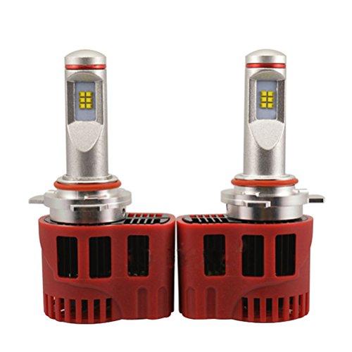 WINOMO P6 Puce LED 90W H16 Voiture LED projecteur Double Puce de Kit Lampe LED Lampe de tête de Bouche à