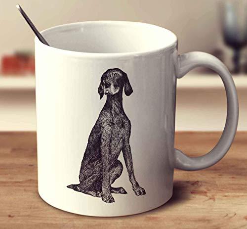 WTOMUG German Shorthaired Pointer Sketch Coffee Mug (White, 11 oz)