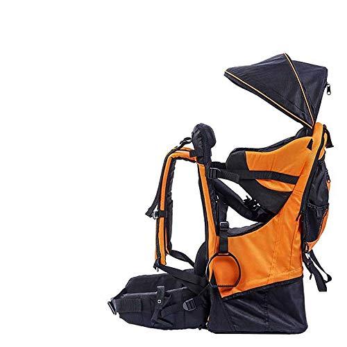 Mochila portabebés,Portador de niños,Mochila de senderismo para bebés y niños pequeños,Mochila con cubierta para lluvia Protector capota para el sol para niños, Sostiene hasta 60 libras