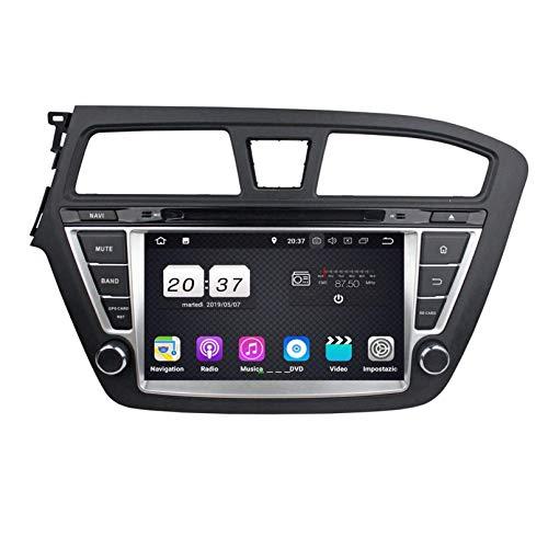 Android 8.1 Autoradio Navigazione GPS per Hyundai I20(2014-2018) LHD, 8 Pollici Touchscreen Lettore DVD Radio Bluetooth