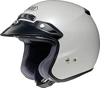 Shoei Metallic RJ-Platinum R Cruiser Motorcycle Helmet - Crystal White/X-Large