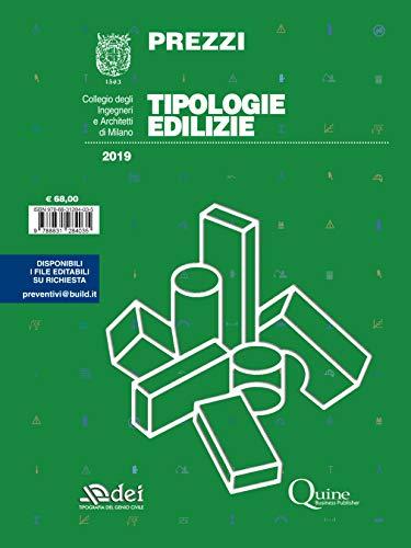 Prezzi tipologie edilizie 2019