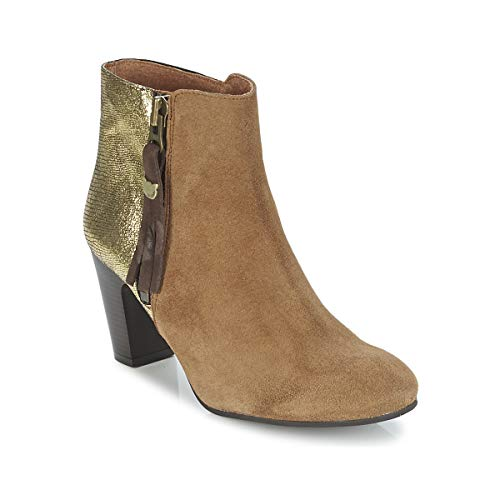 Lollipops Vega Boots 1 Botines/Low Boots Mujeres Marrón/Oro - 36 - Botines Shoes