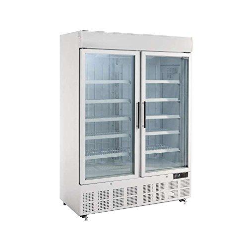 Congelador comercial Polar de pantalla con caja de luz 920litros