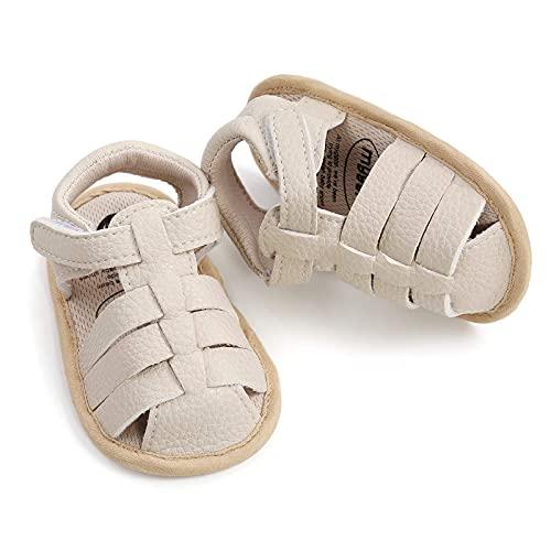 YWLINK Sandalias para NiñOs Y NiñAs con Suela De Goma Suave Antideslizante, Zapatos Planos De Verano para Caminar,Zapatos para NiñOs PequeñOs, Casuales Sandalias De Cabeza De Zapato De Playa