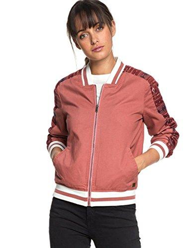 Roxy Free and Wild - Bomber Jacket for Women - Bomberjacke - Frauen - XL - Rosa