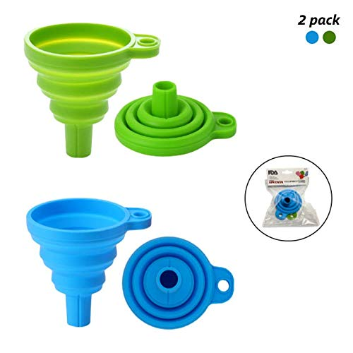 (50% OFF Coupon) Silicone Funnel for Liquids BPA Free Dishwasher Safe  $3.50