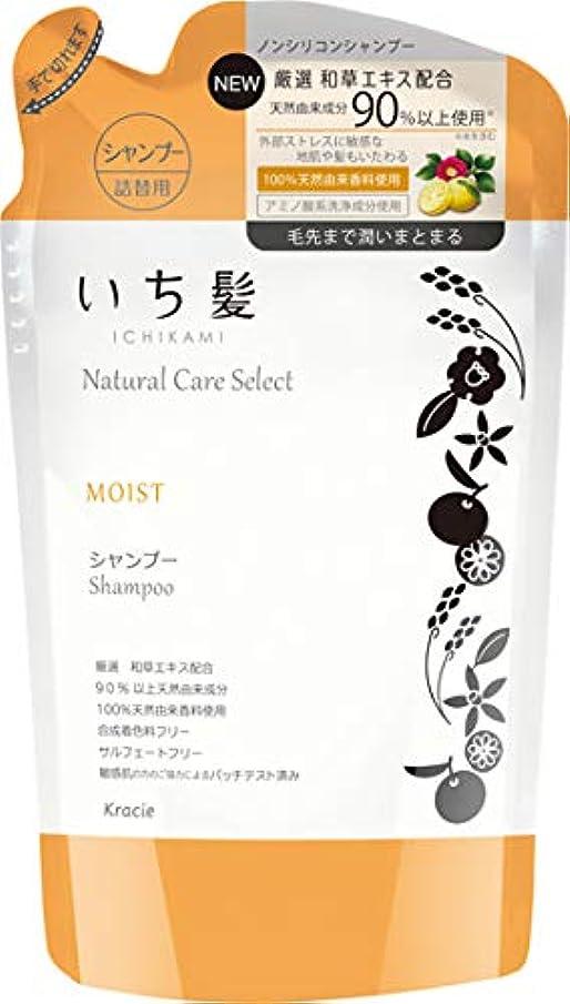 広いこどもの宮殿ラボいち髪ナチュラルケアセレクト モイスト(毛先まで潤いまとまる)シャンプー詰替340mL シトラスフローラルの香り