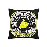 PoPBelle Bultaco Pursang Fundas de Cojines Fundas de Almohada Fundas de Almohada de Tiro Cuadrado Suave Decoración del hogar para Cama Sofá Sofá Granja Pillow Covers