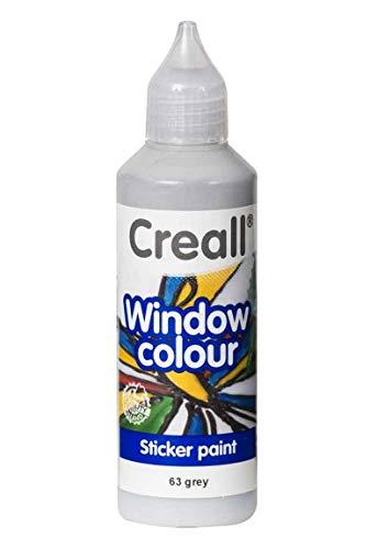 Creall Window-Color-Premiumfarbe Fensterfarben frei wählbar auch Konturenfarbe (grau)