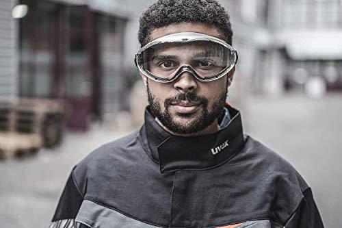 Uvex Ultrasonic Supravision Excellence Schutzbrille - Transparent/Grau-Schwarz - 5