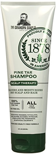 Grandpa's Soap Company Wonder Pine Tar Shampoo, 8 Ounce - Pack of 2