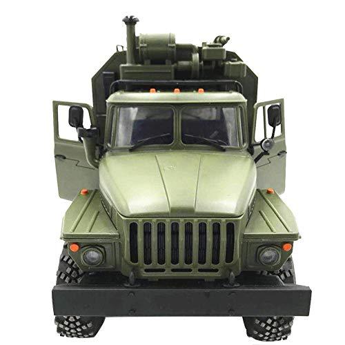 Starter Simuliertes Kletterndes Auto - WPL Ural 1:16 Sechs-fahren Militärfahrzeug-Befehls-Kommunikations-Fahrzeug-Skala-kletternder RC-AUTO