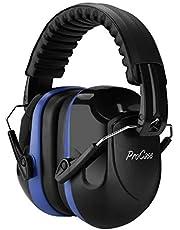ProCase Casco Antiruido, Protector Auditivo SNR 34 dB Aislante de Ruido Profesional, Casco Insonorizado Protector de Oído para Campo de Disparo, Caza