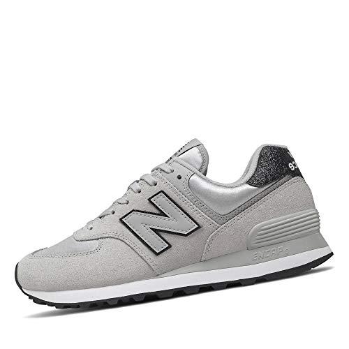 New Balance 574 Fm2 Sneaker Donna Grigio, 40, Gris