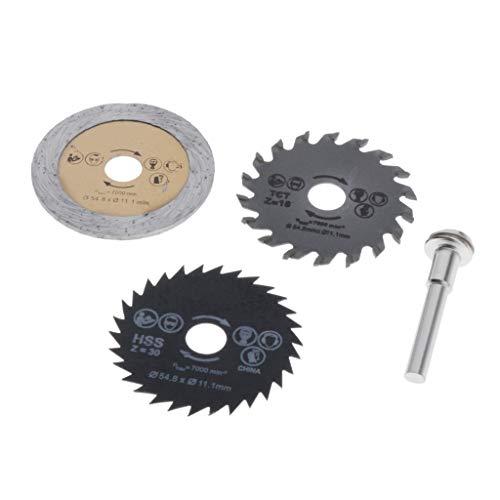 Cortador de Herramienta de Corte Dentado de Hoja de Sierra de Metal/Diamante 3sets para Baldosas de Plástico