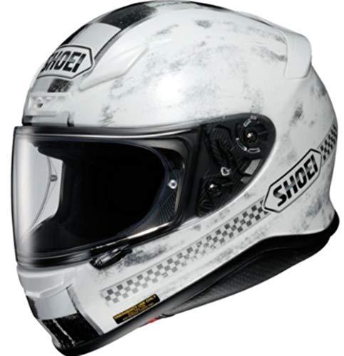 Shoei NXR Terminus TC-6 Motorradhelm, Farbe weiß-schwarz, Größe S (55/56)