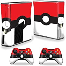 MightySkins Skin Compatible with X-Box 360 Xbox 360 S Console - Battle Ball | Protective, Durable, and Unique Vinyl Decal wrap Cover | Easy to Apply, Remove, and Change Styles | Made in The USA