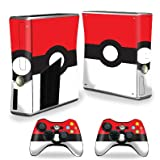 MightySkins Skin Compatible with X-Box 360 Xbox 360 S Console - Battle Ball   Protective, Durable, and Unique Vinyl Decal wrap Cover   Easy to Apply, Remove, and Change Styles   Made in The USA