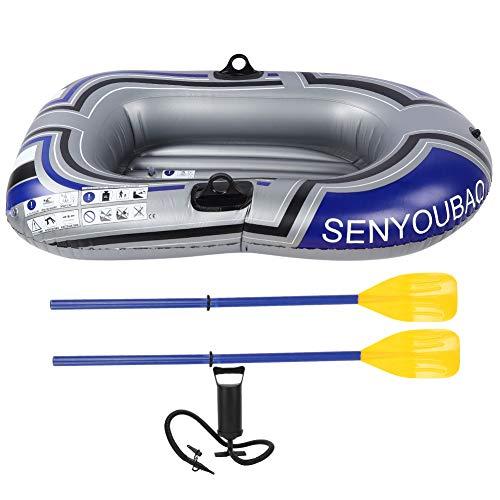 XINMYD Bote Inflable, Bote Inflable, balsa, Kayak, Canoa, Bote de PVC con Bomba infladora para Pescar