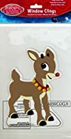 Product Works Rudolph the Red-Nosed Reindeer Gel Window Cling (Rudoph the Red-Nosed Reindeer) by Product Works [並行輸入品]