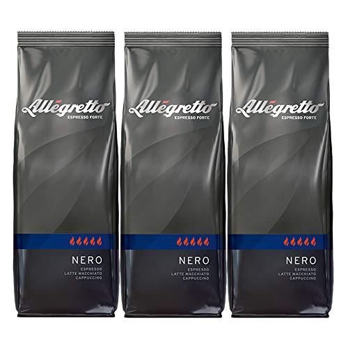 Allegretto Nero, 250g, ganze Bohne, 3er Pack