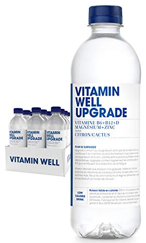 Vitamin Well Citron cactus vitamin enhancement drink (upgrade) 12 x 50 cl