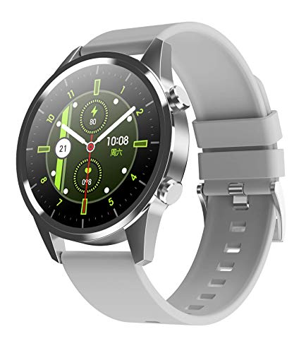 LC.IMEEKE Smartwatch, Fitness Armband Tracker Voller Touch Screen Uhr IP67 Wasserdicht Armbanduhr Smart Watch mit Schrittzähler Pulsuhren Pulsmesser Stoppuhr für Damen Kinder Sportuhr für iOS Android