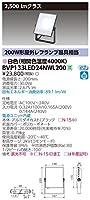 TOSHIBA 東芝ライテック LED小形投光器 スポットライト 2500lmクラス 白色 BVP133LED24NWL200