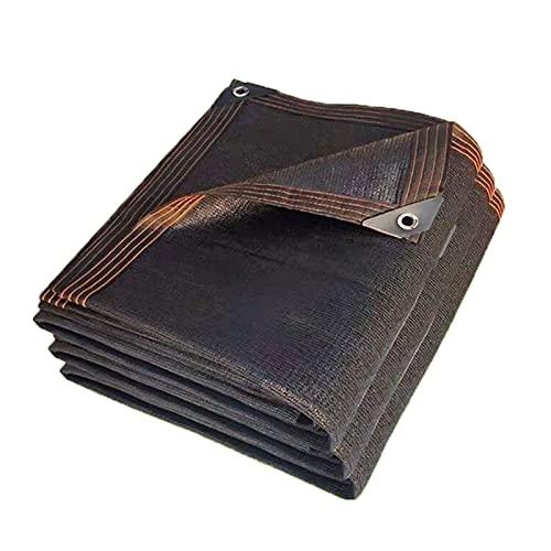 BWGF Malla de Sombra Al Aire Libre 5x5m, Red de Sombreado para Invernadero, PañO de Sombra Transpirable con Ojales 10 Pines para CéSped Plantas de Invernadero