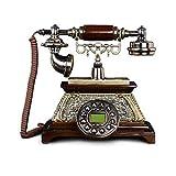 YANGYUAN Teléfono Fijo, Tipo antigüedad de la Manera Creativa de teléfono Fijo Retro Antiguo de la Vendimia
