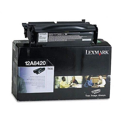 Lexmark 12A8420 - LEXMARK T430 6K RETURN PROGRAM CART
