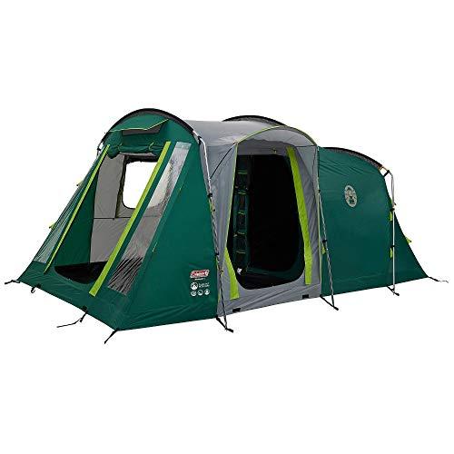 Coleman Mackenzie 4 Blackout 4 Man Tunnel Tent Green + Free Event Shade