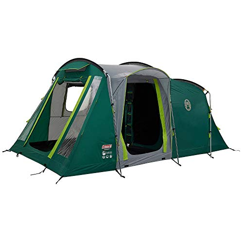 Coleman Mackenzie 4 Blackout 4 Man Tunnel Tent Green + Free Event Shade