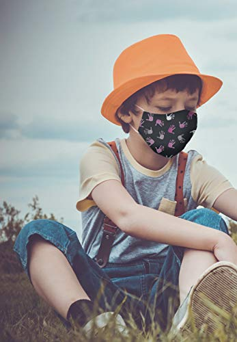 Mascarilla Higiénica Reutilizable para Niños (Talla Pequeña) 30 Diseños para Elegir