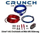 [page_title]-Crunch CRK10 Car HiFi Endstufen-Anschluss-Set 10mm²