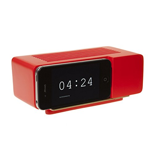 Areaware Alarm Dock Docking Station iPhone 4/4S rood