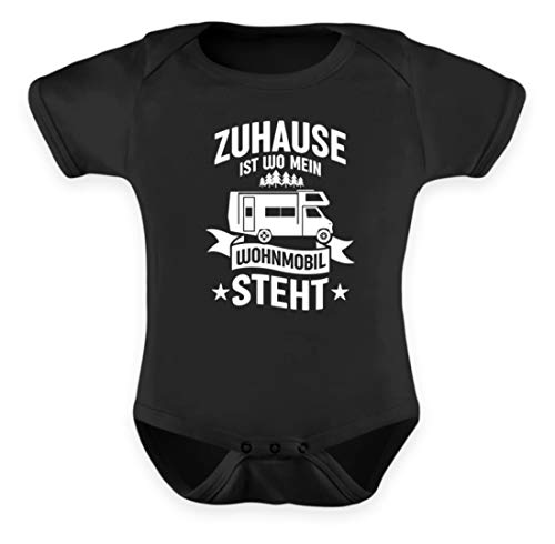 Values Thuis ist wo Mein Wohnmobil Stht I Camper & Nomaden Geschenk - Baby Body