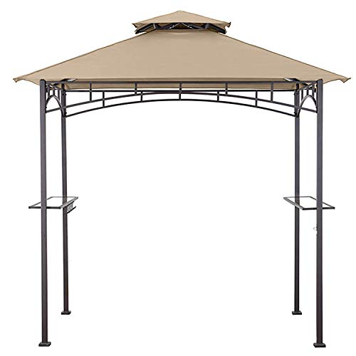 MasterCanopy Grill Gazebo Shelter Replacement Canopy Cover