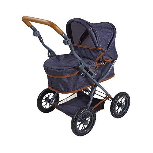 knorr toys 63430 - Puppenwagen First - dark blue