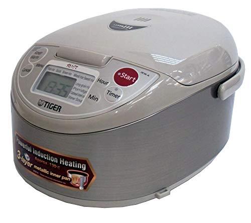 TIGER Außerhalb von Japan IH jar Reiskocher Far rote Wasserkocher Drei-Schicht- gekocht (55.5gou kochen) JKW-A10W(S)/220V