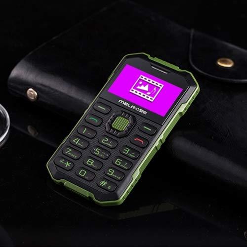 Yun AYM Melrose S2 Tarjeta de Prueba Triple, teléfono móvil, a Prueba de Polvo, a Prueba de Golpes, Resistente a los Golpes, MTK6260DA, 21 Teclas, Bluetooth, FM, cámara de 0.3MP, gsm (Verde Militar)