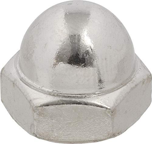 Le groupe Hillman 180087 Acorn pressé Écrou, 1/10,2 cm par 50,8 cm, 100-Pack