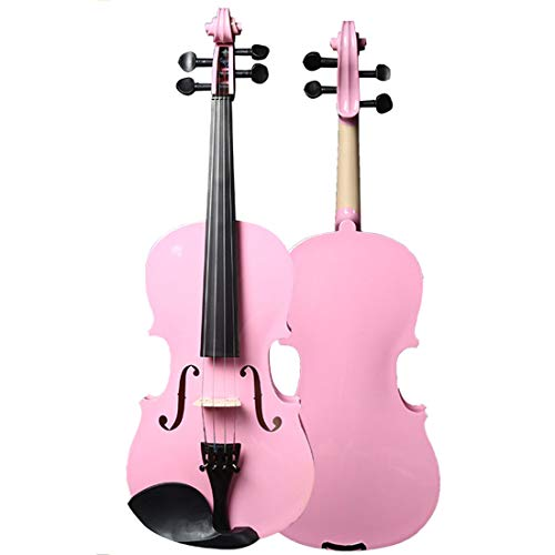 Haunen Geige Violine Größe 4/4 für Einsteiger, Violine für Kinder mit Koffer, Bogen und Kolophonium, Kindergeige Geschenk Violine für Kinder ab 12 Jahren