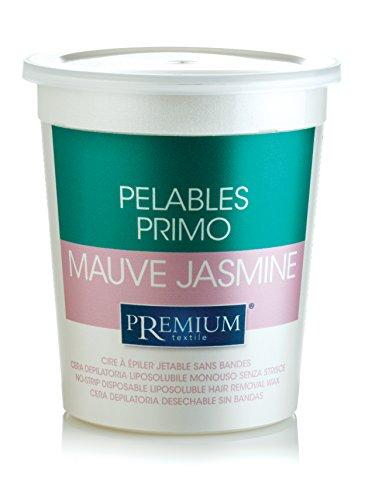 Premium Jasmin Mauve Heißwachs, Intime und Achseln. Benutzung Ohne Vliesstreifen. Mikrowelle geeignet, 700ml