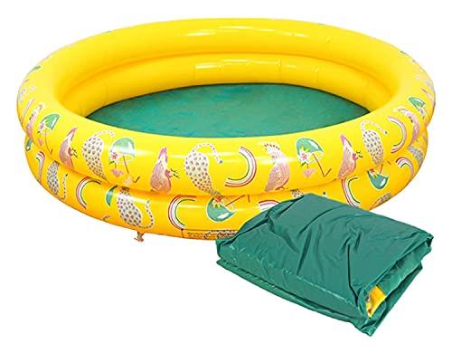LIXSLT Piscina inflable para niños, familia, ocio, jardín, jardín, jardín, piña, piscina, interior, verano, día interesante, cumpleaños, GIF para niños y niñas (color : bolsa de plástico)