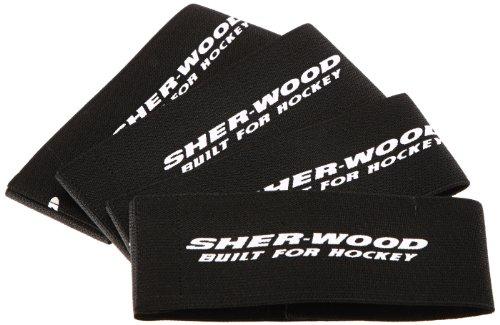 Sherwood Kinder Beingummi Sher-Wood Klett-Junior, Schwarz, X-Small